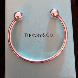 ec653c4375e1d Tiffany sterling silver hardware ball cuff